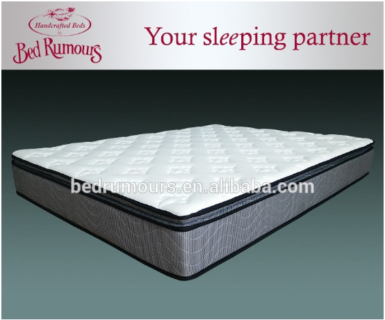 China supplier excellent memory foam bonnel spring mattress