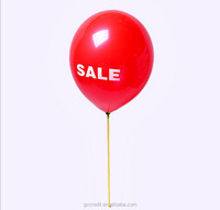 hot sale mini air balloon helium balloon with round /heart shape for advertising /decoration