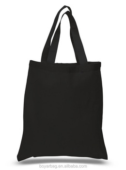 OEM cotton durable handbag extra large tote bag with shoulder strap