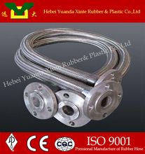 3 inch hose flexible metal hose with flange end