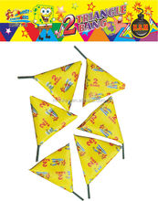 Hot sale chinese crackers 2 sound triangle cracker fireworks and firecrackers