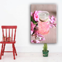 Wonderful still life modern chinese wall canvas art painting with glass coating