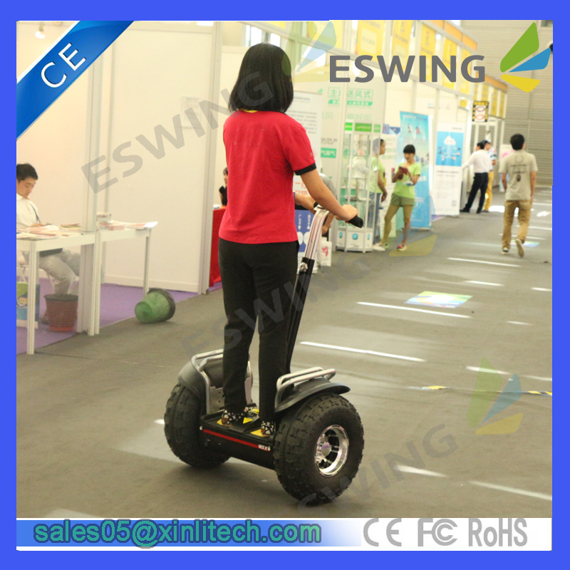 Self Balancing 2 Wheels Standing Best Selling 50CC Off Road Scooter