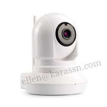 720p HD Onvif wifi PTZ IP cctv dome camera with audio function
