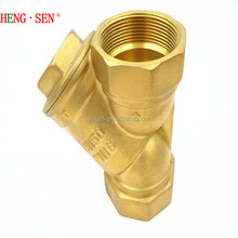 Y type Brass/Copper threade Strainer Filter for Plumbing Materials