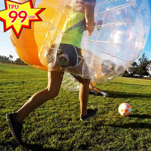 YL 100% TPU Inflatable Bumper Body Bubble Ball For Kids And Adult