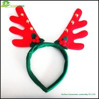 Fashion Festival Headbands christmas hair band girl Antlers tire Christmas Antlers Hair Band BGSY1011