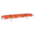 Light-weighted aluminum folding emergency rescue stretcher