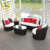 All weather 4 piece rattan garden patio sofa set