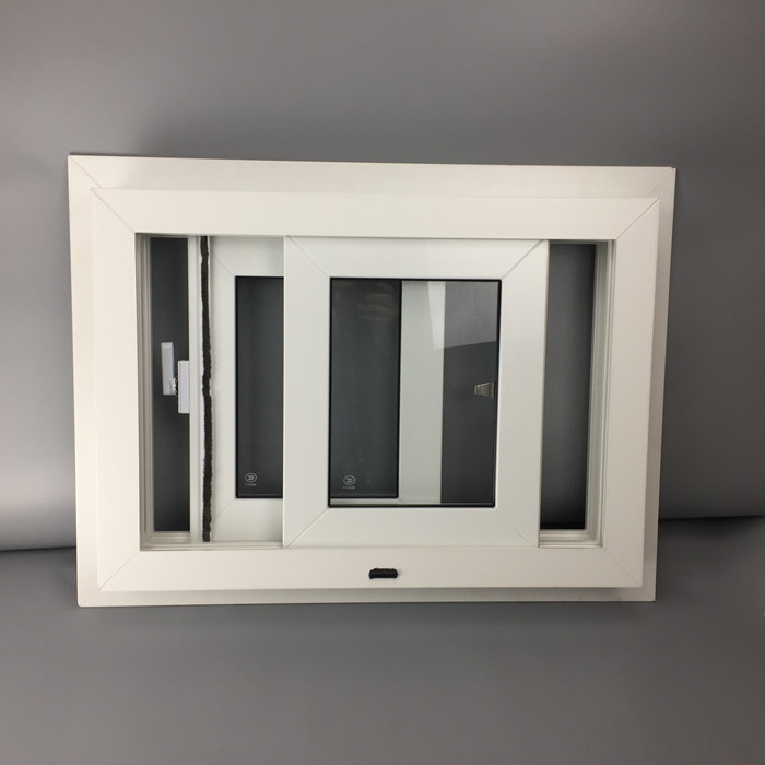 70mm white pvc window