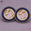 JAHOO Attractive Round Silicone Badge Rubber Patch Logo