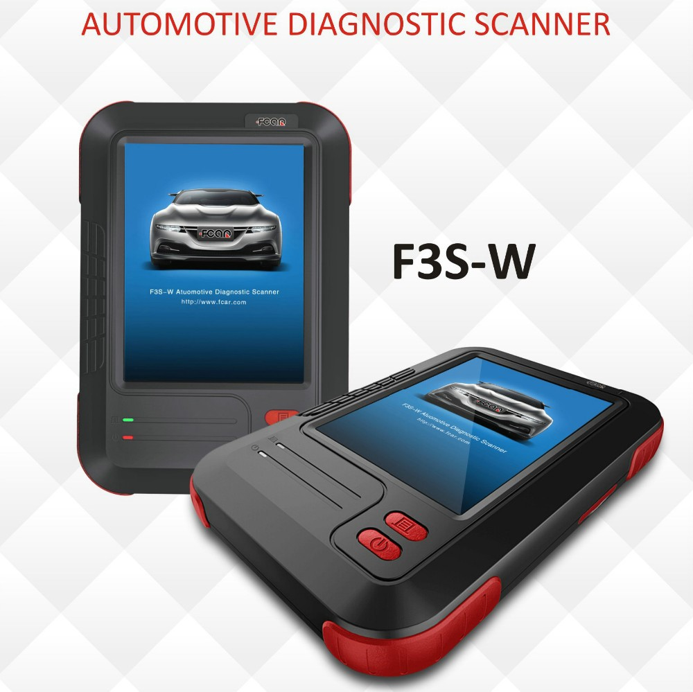 Full function Fcar F3S-W OBD scanner for Asian,US and Euro vehicles