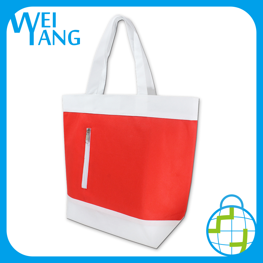 waterproof reusable recycled cooler PP Non Woven hand bag