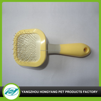 Pet dog comb removable handle hair washing brush