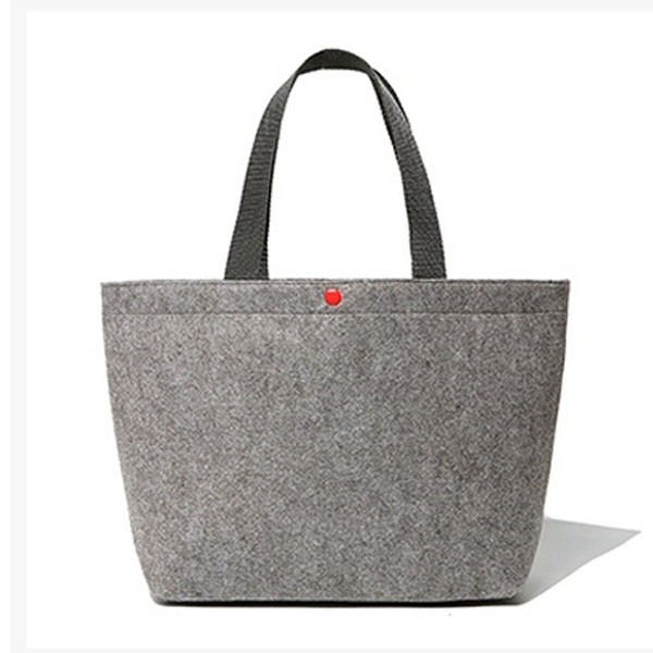 Fashionable handmade wool tote women's lady tote felt bag