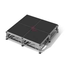 1.22x1.22m Outdoor Concert Stage Aluminum Portable Stage