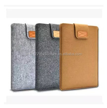 2016 New design laptop bag used for Ipad sleeve felt protective tablet pc polyester case customise