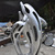 Stainless Steel Fountain Sculpture Dolphin Sculpture