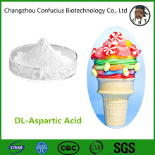 98.5%-101.5% Purity pharmaceutical cosmetic CAS:617-45-8 DL-Aspartic Acid