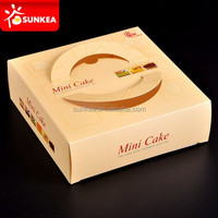 Large paper cake box, sturdy design
