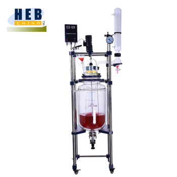 50L Lab Jacketed Glass Reactor