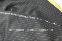 100% Machine Washable Wool High Neck Designs For Ladies Suit Stripes Suit Fabric