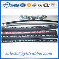 2SN 1/2 inch Mining Industry high temperature flexible oil pipe/fuel hose