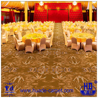 Bamboo Pattern High-end Banquet Hall Axminster Carpet