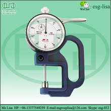 Portable Elcometer Paint Coating Thickness Gauge For Plastic Film