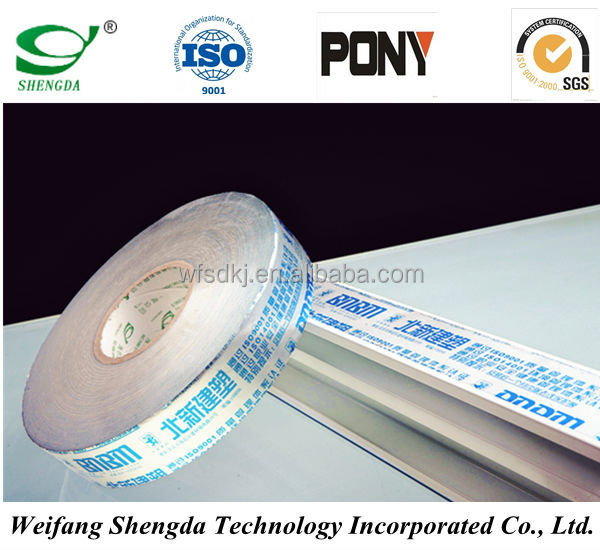 PET/PE Surface Prodution Film Roll for Polyester Lamination board