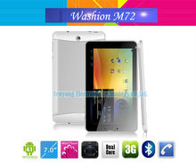 "7"" Washion M72 Android 4.1 Dual Core 3G tablet MTK6577 GPS Phone call Bluetooth Wifi Dual Camera"