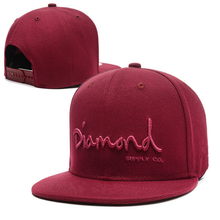 6 panel blank ajustable baseball cap