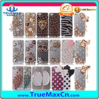 Luxury 3D crystal diamond bling hard case cover skin for iPhone 5s China supply