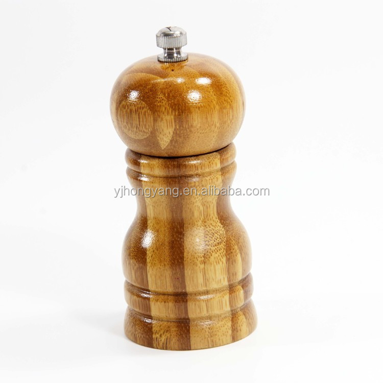 Salt and wood pepper grinder and mills for cooking tools