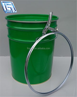20L steel jar with lever lock ring