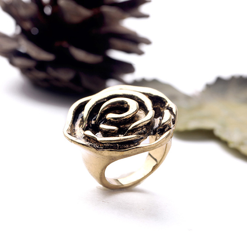 Rose gold ring romantic rings fashion beautiful for women jewelry Valentine's Day gift brand designer zine alloy 2015 new