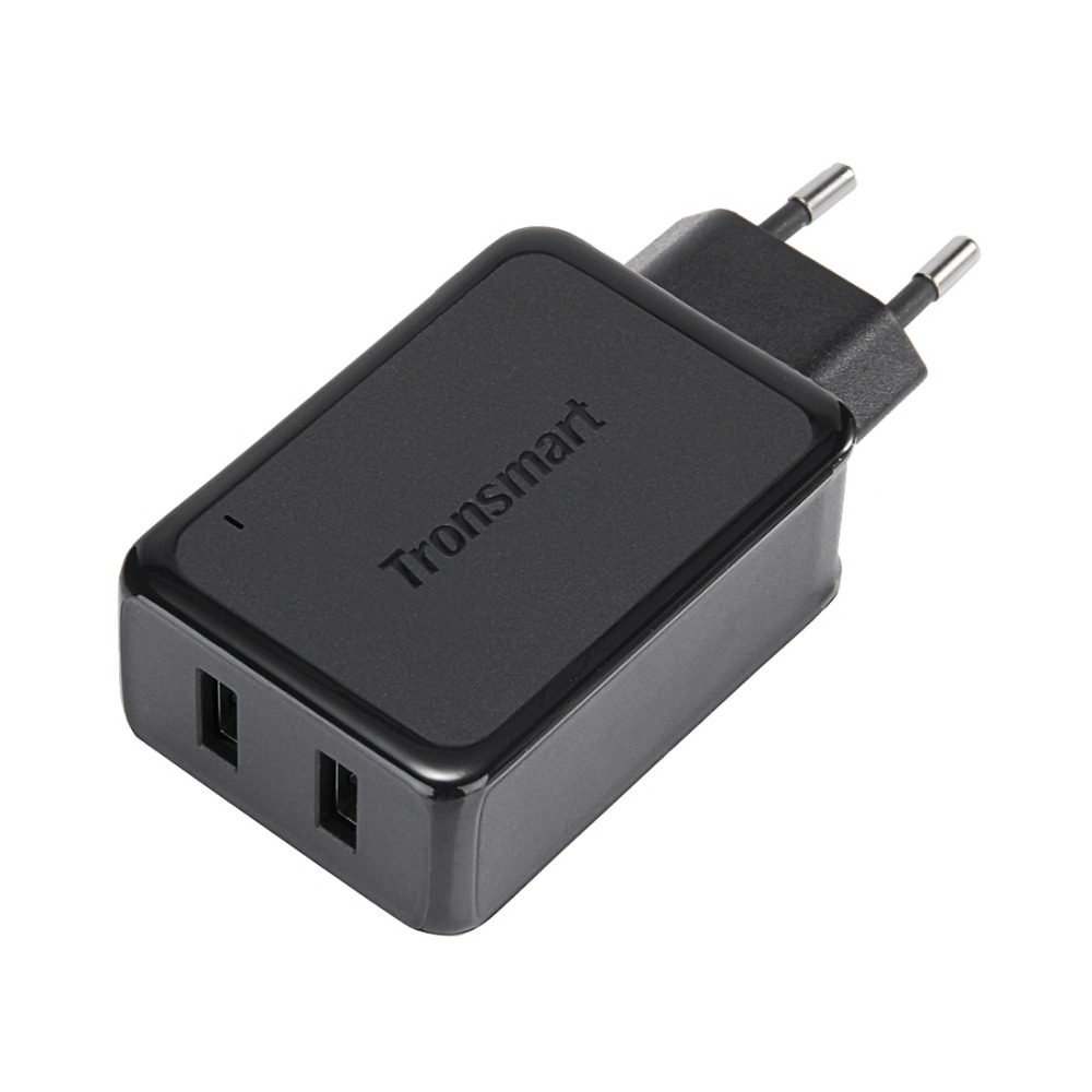 Tronsmart Dual USB Ports Wall Charger Quick Charge 2.0 Phone Charger Kit for iPhone 7 / Samsung Galaxy S6 / LG G4 USB Charger
