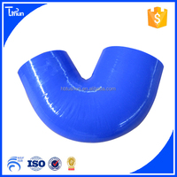 high temperature flexible 45 degree reducer silicone elbow hose for intercooler