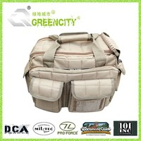 Ultimate Deluxe Tactical Tan Color Range Gun Pistol Bag