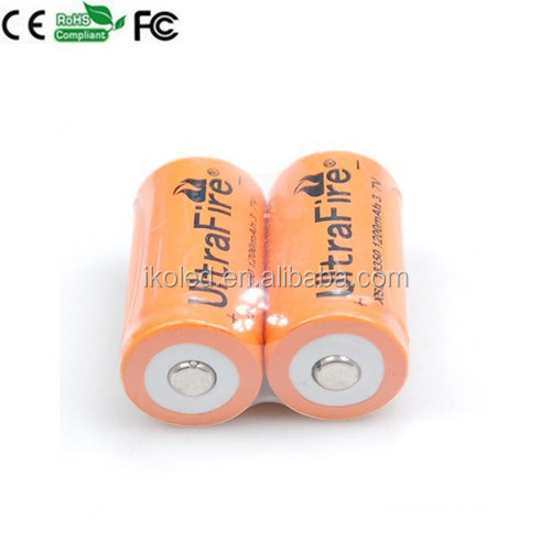 1200mAh 3.7V Rechargeable Battery High Drain 18350 Battery lithium/li-ion Battery