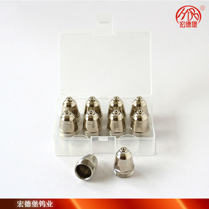 P80 plasma cutting nozzle and electrode