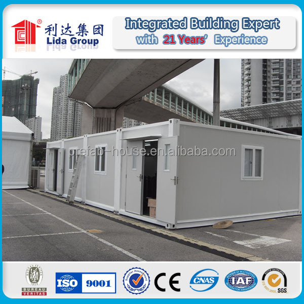 2 floor prefab Flatpack Container House/ Office/ Warehouse/ Dormitory/ Temporary shelter