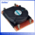 China products 1U copper/aluminum skive CPU/GPU/laptop 28mm AMD heatsink