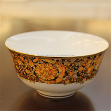 Luxury style new fine bone china new items in china market porcelain soup bowl