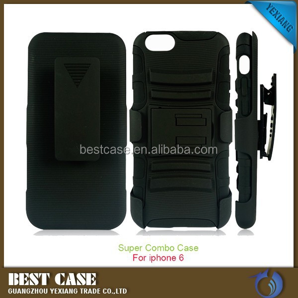 2015 Mobile Phone Funda Belt Clip Holster Case For iPhone 6 Plus New Case