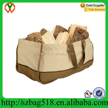 beautiful design pp woven bag for firewood wood carrier bag