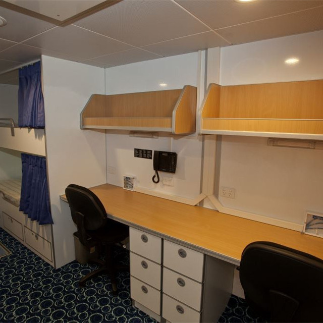 Light Weight Marine Aluminum Honeycomb Bunk Bed Bedroom For Cabin Furniture