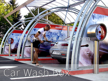 CE 80 bar hot water coin /card operated self service car wash service station equipment