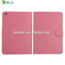 Soft leather compatible brand flip case for apple ipad mini
