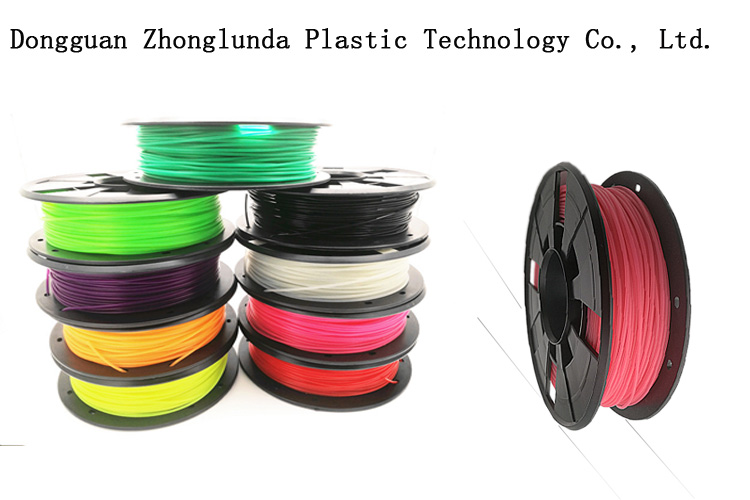 2017 high quality 3d printing consumables manufacturer, PLA 1.75 / mm filament 3d printer filament and 3d printing pen filament